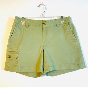 Banana Republic Army Green Shorts. Sz Women's 6.